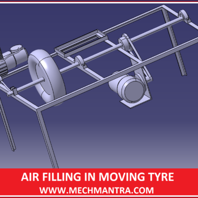 AIR FILLING IN ROTATING TYRE
